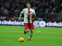 Ronda 2016 de calificación del EURO Polonia contra el representante de Irlanda Imagenes de archivo