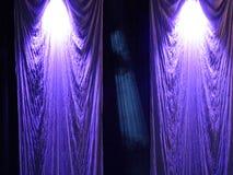 Ronda de la parte posterior de una etapa Imagen de archivo