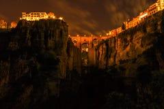 Ronda di notte Fotografia Stock
