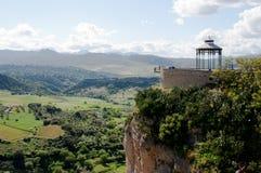 Ronda dorp in Andalucia, Spanje Stock Afbeeldingen