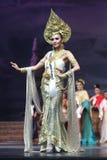 Ronda final de Srta. Supranational Thailand 2017 en la etapa grande a Fotos de archivo
