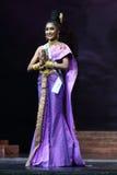 Ronda final de Srta. Supranational Thailand 2017 en la etapa grande a Fotografía de archivo
