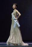 Ronda final de Srta. Supranational Thailand 2017 en la etapa grande a Fotos de archivo libres de regalías