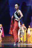 Ronda final de Srta. Supranational Thailand 2017 en la etapa grande a Imagenes de archivo