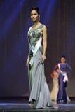 Ronda final de Srta. Supranational Thailand 2017 en la etapa grande a Foto de archivo libre de regalías