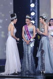 Ronda final de Srta. Tourism Queen Thailand 2017 Imagenes de archivo