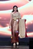 Ronda final de Srta. Tourism Queen Thailand 2017 Foto de archivo libre de regalías