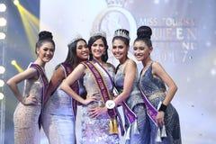 Ronda final de Srta. Tourism Queen Thailand 2017 Imagen de archivo