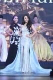 Ronda final de Srta. Tourism Queen Thailand 2017 Fotografía de archivo libre de regalías