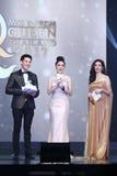 Ronda final de Srta. Tourism Queen Thailand 2017 Imágenes de archivo libres de regalías