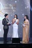 Ronda final de Srta. Tourism Queen Thailand 2017 Foto de archivo