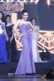 Ronda final de Srta. Tourism Queen Thailand 2017 Imagen de archivo libre de regalías
