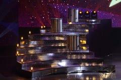 Ronda final del ` 2017 del universo del ` s de Srta. Tiffany del ` en Tiffany Theatre imágenes de archivo libres de regalías