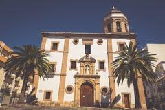 Ronda, Hiszpania przy Merced Karmelickim klasztorem Fotografia Stock
