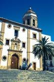 Ronda, Hiszpania przy Merced Karmelickim klasztorem Zdjęcie Stock