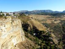 Ronda: kanjon El Tajo 1 Royaltyfria Foton