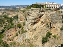 Ronda: kanjon El Tajo 5 arkivfoton