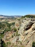 Ronda: kanjon El Tajo 6 Royaltyfria Bilder