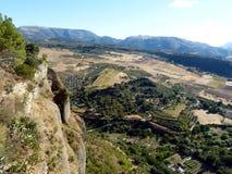 Ronda: kanjon El Tajo 7 Royaltyfri Bild