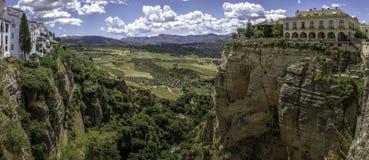 Ronda krajobrazowy panoramiczny widok (003) Fotografia Royalty Free