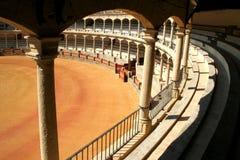 Ronda, la plaza de toros Fotos de archivo