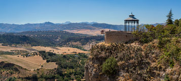 Ronda Landscape Panorama II Stock Image