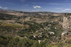 Ronda landscape scenery Stock Photos