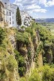 Ronda landscape view. A city in the Spanish province of Malaga. Stock Images