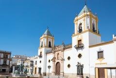 Ronda lopp i Andalusia Spanien Europa arkivbild
