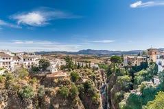 Ronda, MÃ ¡ laga, Andalusia, Spanje Stock Afbeelding