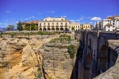 Ronda, Malaga, Espagne Photo stock
