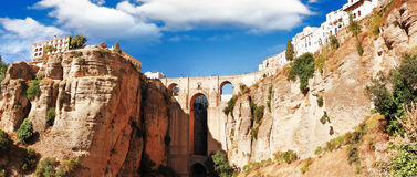 Ronda, Malaga Province, Andalusia, Spine Royalty Free Stock Images