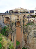 Ronda New Bridge and El Tajo Gorge Stock Photography