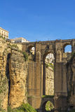 Tajo Bridge, Ronda, Spain Stock Photos
