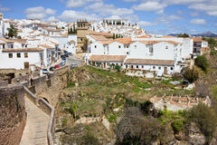 Ronda Old City in Spain Stock Photos