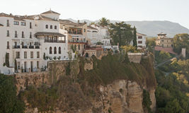Ronda Old Town Royalty Free Stock Photography