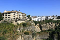 Ronda, one of the most famous white villages of Malaga (Andalusia), Spain Royalty Free Stock Photos