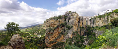 Ronda Panoramic Stock Photography