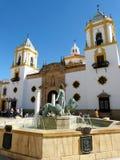 Ronda: Plaza del Socorro foto de stock royalty free