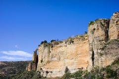 Ronda Rock in Spain Stock Images