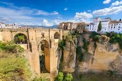 Ronda Spain Bridge Royalty Free Stock Images