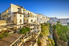 Ronda, Spain Cliffside Town Royalty Free Stock Images