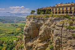 Ronda Spain Malaga. Landscape of Ronda in Spain Andalusia Royalty Free Stock Photography