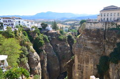 Ronda. In spain near malaga south spain Royalty Free Stock Photos
