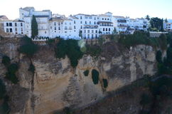 Ronda. In spain near malaga south spain Royalty Free Stock Image
