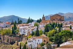 Ronda, Spain Old Town. Cityscape Royalty Free Stock Photos