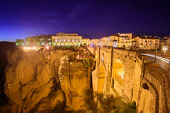 Ronda, Spain Old Town Royalty Free Stock Photography