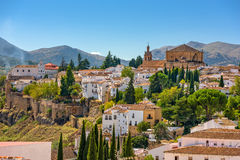 Ronda Spain Old Town Royalty Free Stock Photo
