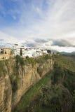 Ronda by, Spanien fotografering för bildbyråer