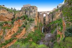 Ronda, Spanien stockbild